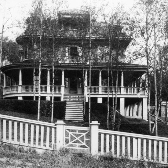 John Stocks Residence, 1908, front elevation