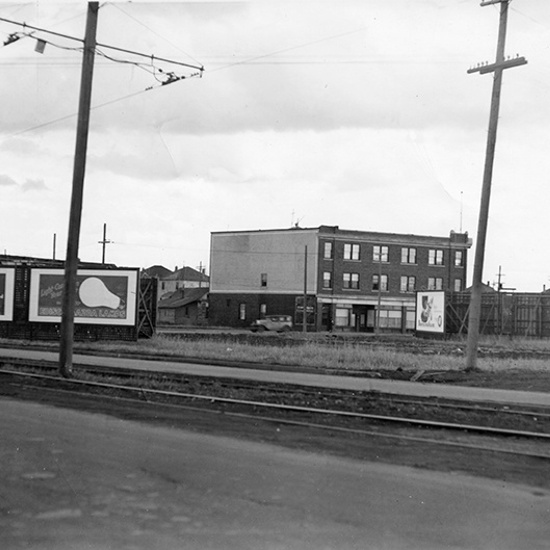 Lambton Block, 111 Avenue and 97 Street, west, 1930