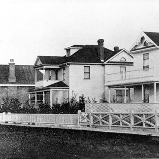 Duggan Residence, Saskatchewan Drive looking East, 1910