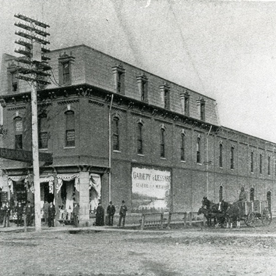 Gariepy and Lessard Building, 1903
