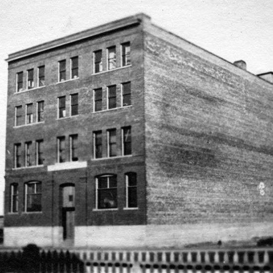 Mercer Warehouse, ca 1912