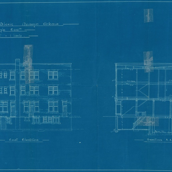 Lambton Block- blueprints 1914