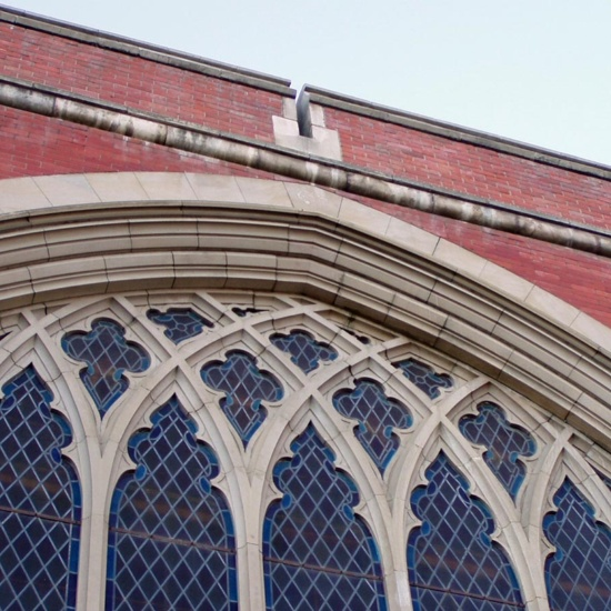 First Presbyterian Church, 2003, detail